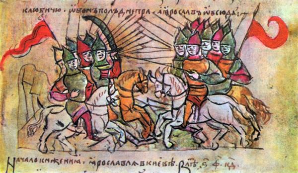 Битва Ярослава и Святополка